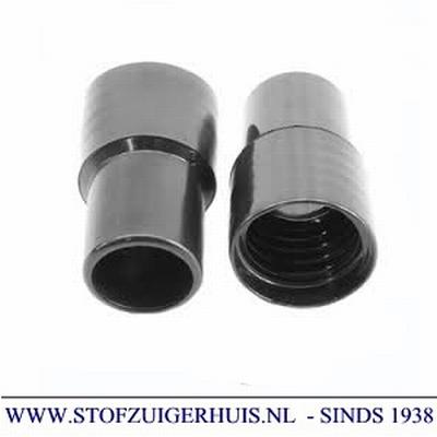 Schroefmof 32mm zwart PVC
