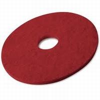 Pad  Rood Uitwrijven/Schrobben 432 mm / 17 inch  stuks