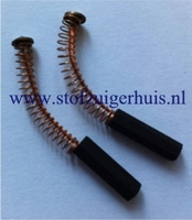 Koolborstels 6 x 6 mm