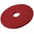 Pad  Rood Uitwrijven/Schrobben 510 mm / 20 inch stuks