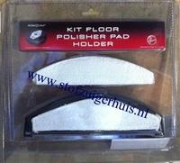 Hoover Polisher Pads + Houder Robocom