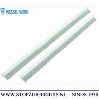 Dweilrubberset Industrie Zuigmond Aluminium, 370mm