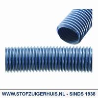 Losse slang, Ø 38mm Blauw,  per meter (max 15 mtr.)