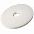Pad  Wit Uitwrijven 406 mm / 16 inch stuks