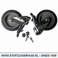 Nilfisk ATTIX 7, ATTIX 9 Zwenkwielen set - 107401054