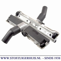 Industrie Zuigmond Aluminium, 32mm met rubbers, 450mm