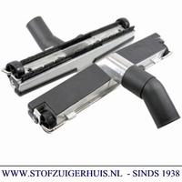 Industrie Zuigmond Aluminium, 35mm met borstel, 370mm