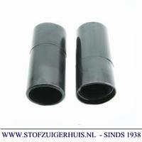 Schroefmof 32mm - 38mm zwart PVC